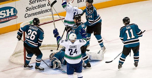 Vancouver Canucks vs San Jose Sharks