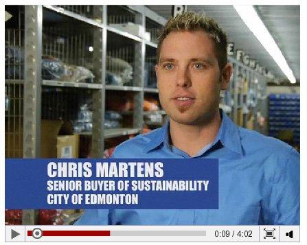 City of Edmonton sustainable purchasing video