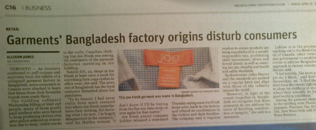 Joe Fresh Image