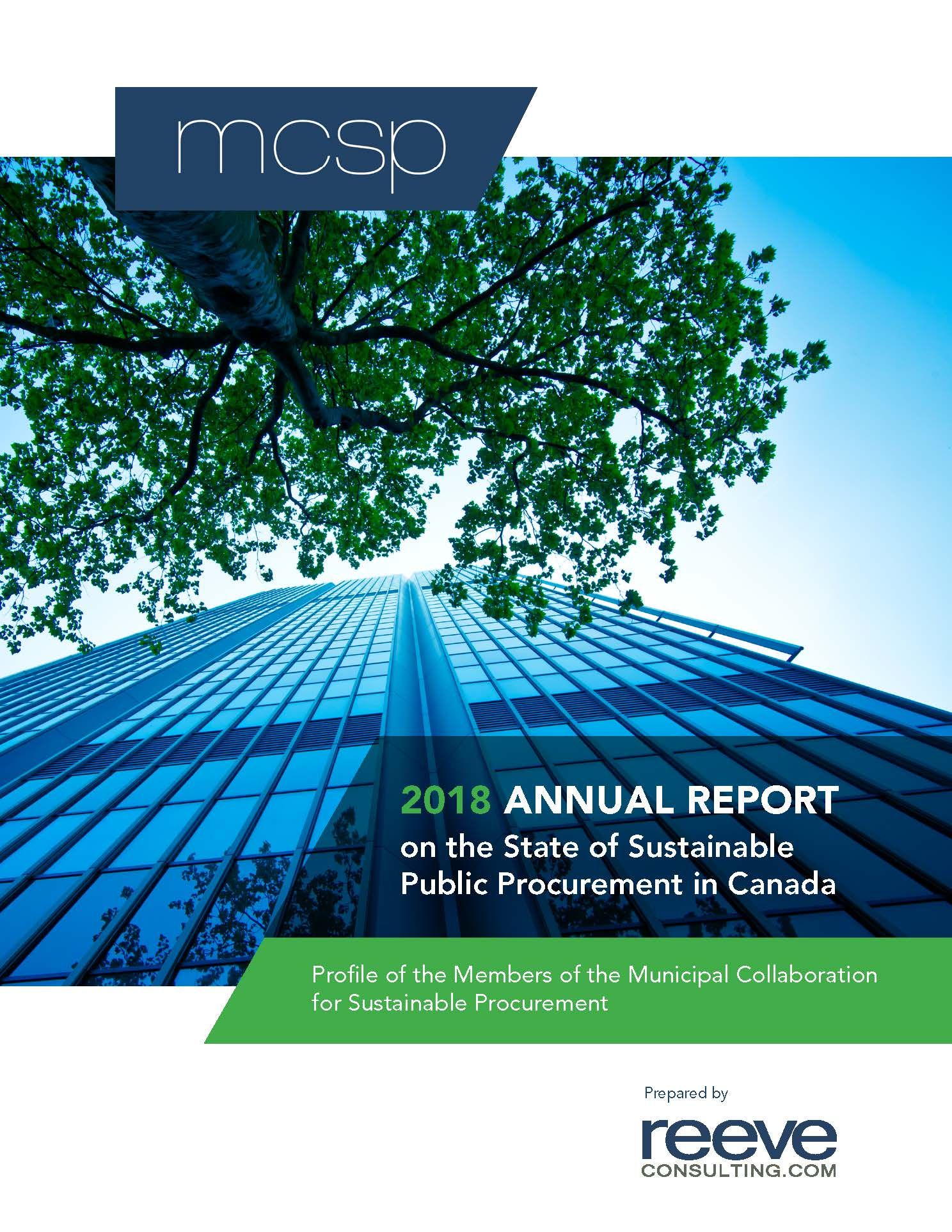 2018 Annual Report on the State of Sustainable Public Procurement in Canada