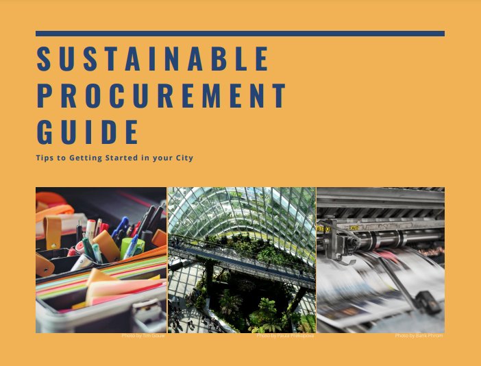 2020 Annual Report on the State of Sustainable Public Procurement in Canada